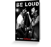 The Avett Brothers - Colorshow Greeting Card