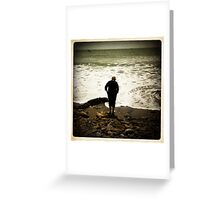 Silent Contemplation Greeting Card