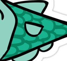 Super Happy Fish - Fish Stick(er) Sticker