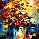 MAGIC BOUQUET- original oil painting on canvas by Leonid Afremov by Leonid  Afremov