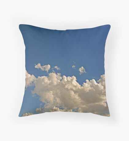 Cumulonimbus 1 Throw Pillow