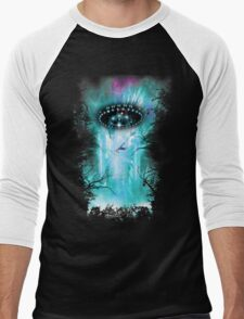 Alien Invasion Men's Baseball ¾ T-Shirt