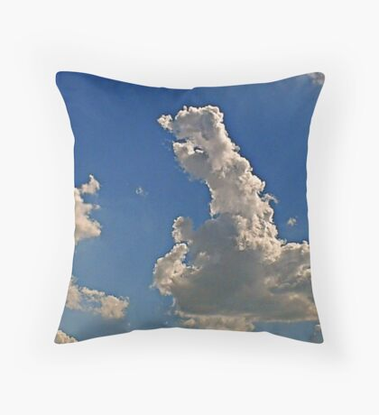 Cumulonimbus 2 Throw Pillow