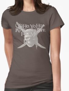 Yo Ho, Yo Ho A Pirate's Life for Me Womens Fitted T-Shirt