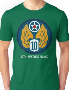 10th Air Force Emblem  Unisex T-Shirt