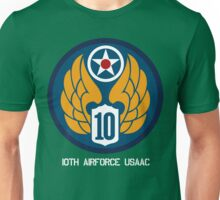 10th Air Force Emblem  Unisex T-Shirt