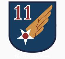 11th Air Force Emblem Kids Tee