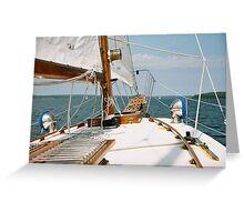 Bayfield Sail Boat Greeting Card
