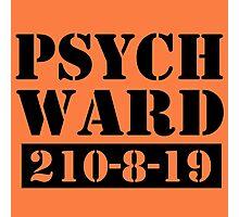 Psych Ward Photographic Print