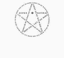 Carry On Anti Possession Symbol - Supernatural Unisex T-Shirt