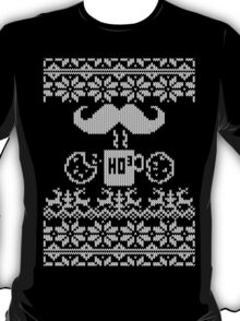 Santa Snack Ugly Sweater Style T-Shirt