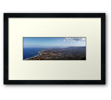 Sublime Point Panorama Framed Print