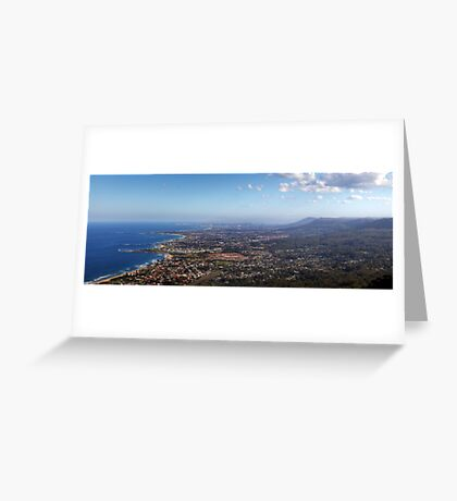 Sublime Point Panorama Greeting Card