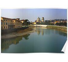 Adige River Poster