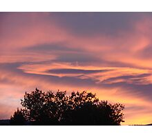 Mayberry Sunset Photographic Print