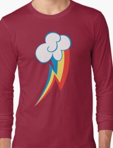 Rainbow Dash Cutie Mark (Large icon) - My Little Pony Friendship is Magic Long Sleeve T-Shirt