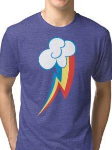 Rainbow Dash Cutie Mark (Large icon) - My Little Pony Friendship is Magic Tri-blend T-Shirt