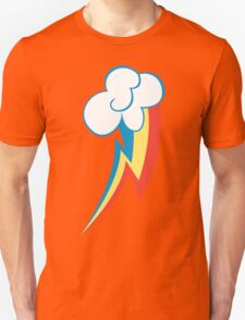 Rainbow Dash Cutie Mark (Large icon) - My Little Pony Friendship is Magic Unisex T-Shirt