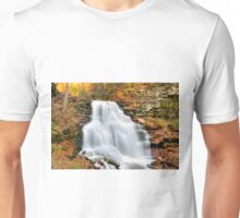 Gushing Fall Flow Over Erie Falls Unisex T-Shirt