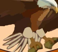"Spaceballs Eagle 5 Logo ""Hero For Hire""  Sticker"