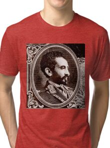 Emperor Haile Selassie-Ethiopia Tri-blend T-Shirt