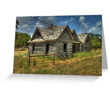 Home for Ghostly Farmers Greeting Card