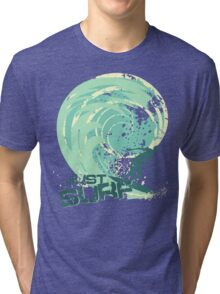 just surf II Tri-blend T-Shirt