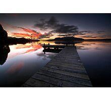 Good Morning Tarawera Photographic Print