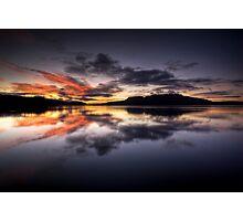 Tarawera Dawn Reflection Photographic Print