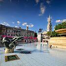 Trafalgar Square by Brendan Buckley