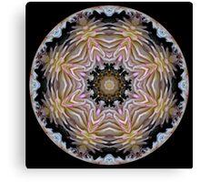 Dazzling Dahlias ball 2 Canvas Print