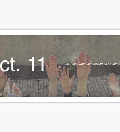 Oct. 11 Sticker