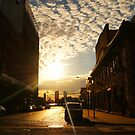 Streets of Gold - Tribeca - New York City by Vivienne Gucwa