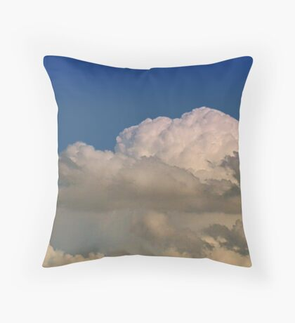 Cumulonimbus 4 Throw Pillow