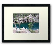 Horseshoe cliffs Framed Print