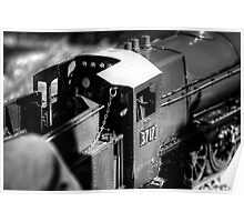Miniature Steam Train Poster