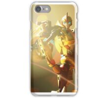 Sunstorm Portrait iPhone Case/Skin