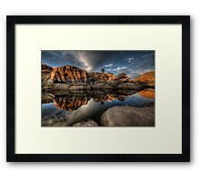 Mirror Dells Framed Print