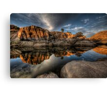 Mirror Dells Canvas Print