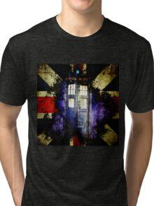 Dr. Who Unijack Tri-blend T-Shirt