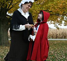 Little Red Riding Hood and her Grandmother by Hope A. Burger