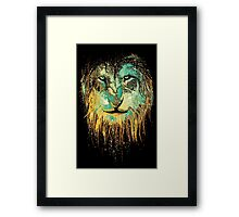 the fury king  Framed Print