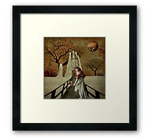 On the Other Side... Framed Print