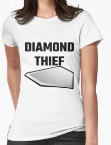 Diamond Thief Womens Fitted T-Shirt