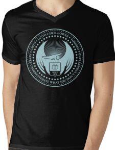 Never Underestimate - Dark Mens V-Neck T-Shirt