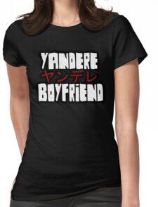 Yandere Boyfriend Womens Fitted T-Shirt