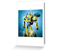 Bumblebee Portrait Greeting Card