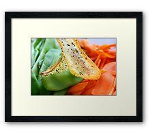 Cross Food  Framed Print
