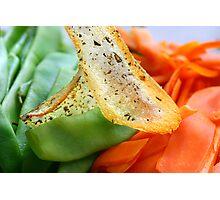 Cross Food  Photographic Print