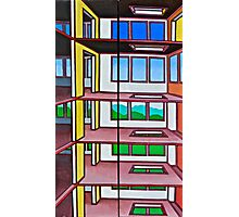 HIGHRISE IN THE BERKSHIRES - a diptych Photographic Print